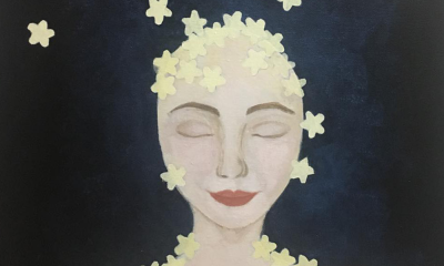 A 27-Year-Old Emirati Artist Uses Moving Artwork to Reach out to Others with Depression