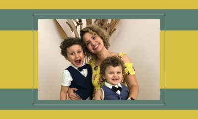 Dina Butti with her kids